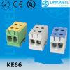 Высокотемпературный Cu Conductor 2.5-50mm2 Electrical Cable Connecting Test Terminal Block Al (KE66)