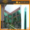 Простая установка зеленый и серебристый защиты конфиденциальности здание окна пленки