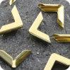 Angolo di metallo per i casi, sacchetti, protezioni del taccuino