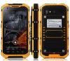 A9 plus IP67 la quarte imperméable à l'eau raboteuse du téléphone Mtk6582 creuse 2GB l'androïde 4.4 Smartphone antichoc de ROM du RAM 16g