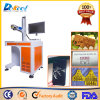3D 20W 30W 섬유 Laser 표하기 나무 또는 플라스틱 또는 전화 덮개 기계 판매