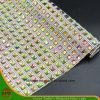 新しいデザイン熱伝達の付着力の水晶樹脂のラインストーンの網(HS17-21)