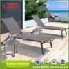 Lounger accogliente di Sun dell'imbracatura + dell'alluminio, salotto del Chaise del giardino