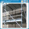 構築のツールのためのKwikstageの鋼鉄足場を塗りなさい