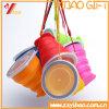 Amazonas-heißes verkaufensüßigkeit-Farben-Nahrungsmittelgrad-Silikon-faltbares Cup für Arbeitsweg (XY-SC-003)