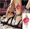 sticker van de Tatoegering van de Kunst van de Stickers van de Tatoegering van de Bloem van de manier de Sexy Tijdelijke