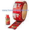 Chemise de rétrécissement de PVC d'animal familier de bouteille d'huile de boisson
