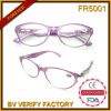 Glas-volle Rahmen-Frauen-Brille der Anzeigen-Fr5001