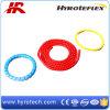 Dispositif protecteur de plastique rouge de tuyau/protecteur coloré de tuyau de source