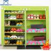 Folding bon marché Non-Woven Shoe Cabinet avec Cover