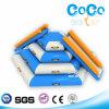 高品質のココヤシ水デザイン膨脹可能な水生階段スライド(LG8088)