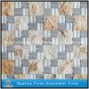 Mosaico de mármol amarillento/blanco natural de la pared de piedra de /Grey para el sitio decorativo