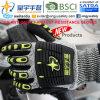 И Anti-Impact Cut-Resistance TPR перчатки, 13G Hppe Cut-Level оболочки 3, песчаный нитриловые упор для рук с покрытием, Anti-Impact TPR на задней стороне механик перчатки