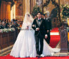 off-Shoulder Wedding Dresses Jay Chou Lace Bridal Ball Gowns Z2022