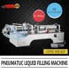 Sola máquina de rellenar líquida neumática principal para el llenador del jugo
