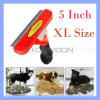 Инструмент Deshedding шерсти холить любимчика щетки гребня удаления собаки размера Xl режа