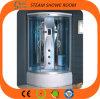 緩和されたガラスの蒸気のシャワー室