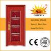 Disegno d'acciaio del portello principale del metallo di prezzi esterni del portello (SC-S026)