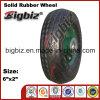 Rasenmähmaschine-festes Gummirad des niedrigen Preis-6X2 für Verkauf