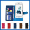 iPhone 6sのためのスライダのCard Slots PU Leather Phone Case