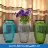 Vaso domestico di vetro decorativo di colore della decorazione