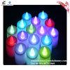 安全な小型多彩な電気LEDの蝋燭ライト