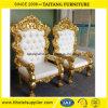 Heißer Verkaufs-preiswerter Preis-Goldrahmen-starker König Chair