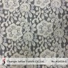 服(M3426-G)のためのトリコットの綿の花のレースファブリック