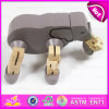 Learning iniziale Wooden Education Toy DIY Construction Toy, Custom Catoon Toy Game 3D Wooden DIY Toy W03b034