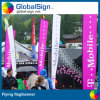 2015 Hot Selling Beach Flags, Feather Flags com Spike Base
