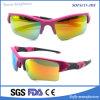 Modedesigner-Sport polarisierte Sonnenbrillen Tr90 der Frauen mit Gummibügel