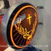 Extérieur illuminer le signe acrylique du cadre léger DEL de qualité