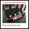 Nieuwe 80W Blocker van het Signaal van de Stoorzender van het Signaal van de Hoge Macht 8bands