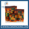Sac à provisions de papier coloré imprimé par coutume de logo (DM-GPBB-221)