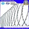 電流を通されたConcertina WireかRazor Wire