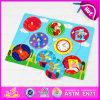 Novos brinquedos para o Natal 2015 quebra-cabeças de madeira brinquedo, Puzzle Chritsmas educacional para crianças com brinquedos, presente de Natal para crianças W14M065