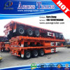 3 Radachse Flatbed Container Semi Trailers für Sale