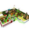 Spielplatz Innen vom hölzernen Spielzeug