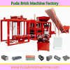 Qt4-20 complètent la chaîne de production complètement automatique hydraulique de brique, machine de bloc