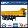 Cimc 반 2개의 차축 덤프 트레일러 트럭
