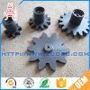 Engranajes de estímulo internos plásticos de nylon de la pequeña rueda dentada del bajo costo del moldeo por inyección para el motor