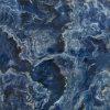 De donkerblauwe Volledige Opgepoetste Verglaasde Tegel van het Porselein