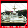 정원 Decoration를 위한 고대 Marble Stone Carving Water Fountain