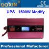DC/AC 1500W 태양계를 위한 LCD를 가진 UPS에 의하여 변경되는 사인 파동 태양 변환장치