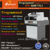 La inserción automática PLC 80mm de espesor 460mm 490mm3 A4 Bookblock borde de la libreta de hojas de papel guillotina