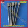 Runder Stecker-kundenspezifische Metallstifte mit Isolierung (HS-BS-030)