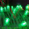 Luzes da corda da decoração das luzes do grampo do verde do Natal do diodo emissor de luz