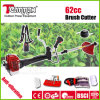 반대로 Vibration System를 가진 62cc Rotatable Handle Gasoline Brush Cutter