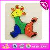 2015 brinquedos de madeira do enigma do cabrito bonito do projeto do Giraffe, enigma Jigsaw do brinquedo relativo à promoção da inteligência, brinquedo de madeira Eco-Friendly W14L020 do enigma