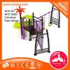 Kleines Slides mit Swing Outdoor Playground für Sale